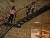 A algunas la escalera nos daba un poco de miedo