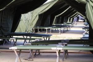 Una foto di una campo di Nauru, di cui, nei Nauru files, furono documentate le atrocità