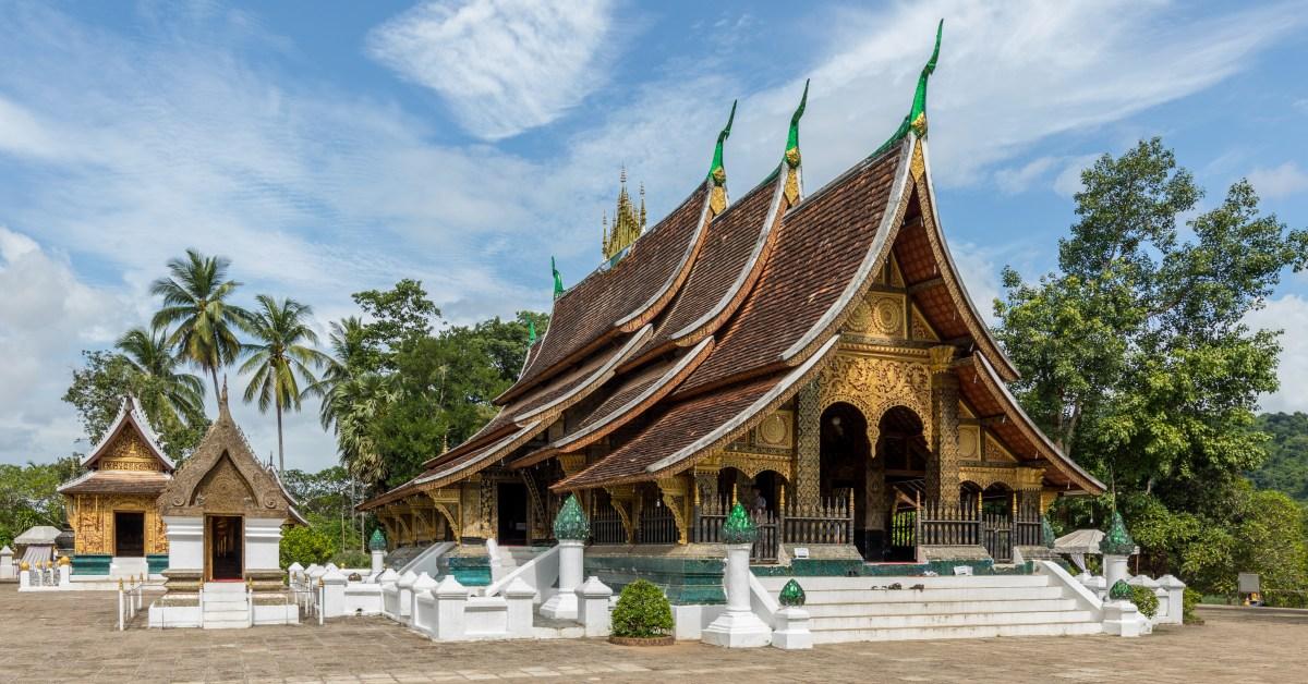 Il tempio Wat Xieng Thong, a Luang Prabang, nel Laos