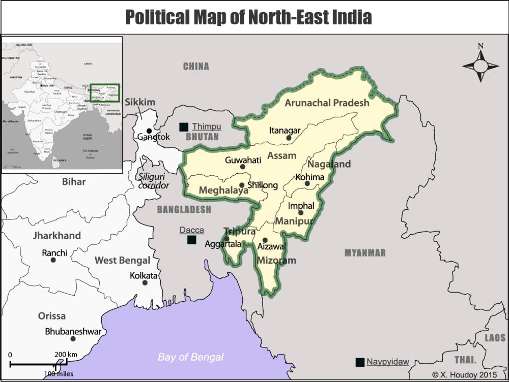 Arunachal Pradesh, Assam, Manipur, Meghalaya, Mizoram, Nagaland e Tripura, india, myanmar, birmania, cina,bangladesh, terroristi, sviluppo.png