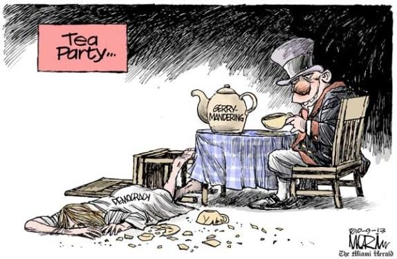 gerrymandering-usa-elezioni-democratici-repubblicani-governatori-camera-rappresentanti-fronde-truccato-polaizzazione-seggi-vignetta