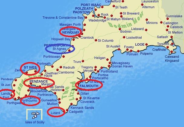 Cartina Cornovaglia.La Cornovaglia Nella Politica Inglese Lo Spiegone