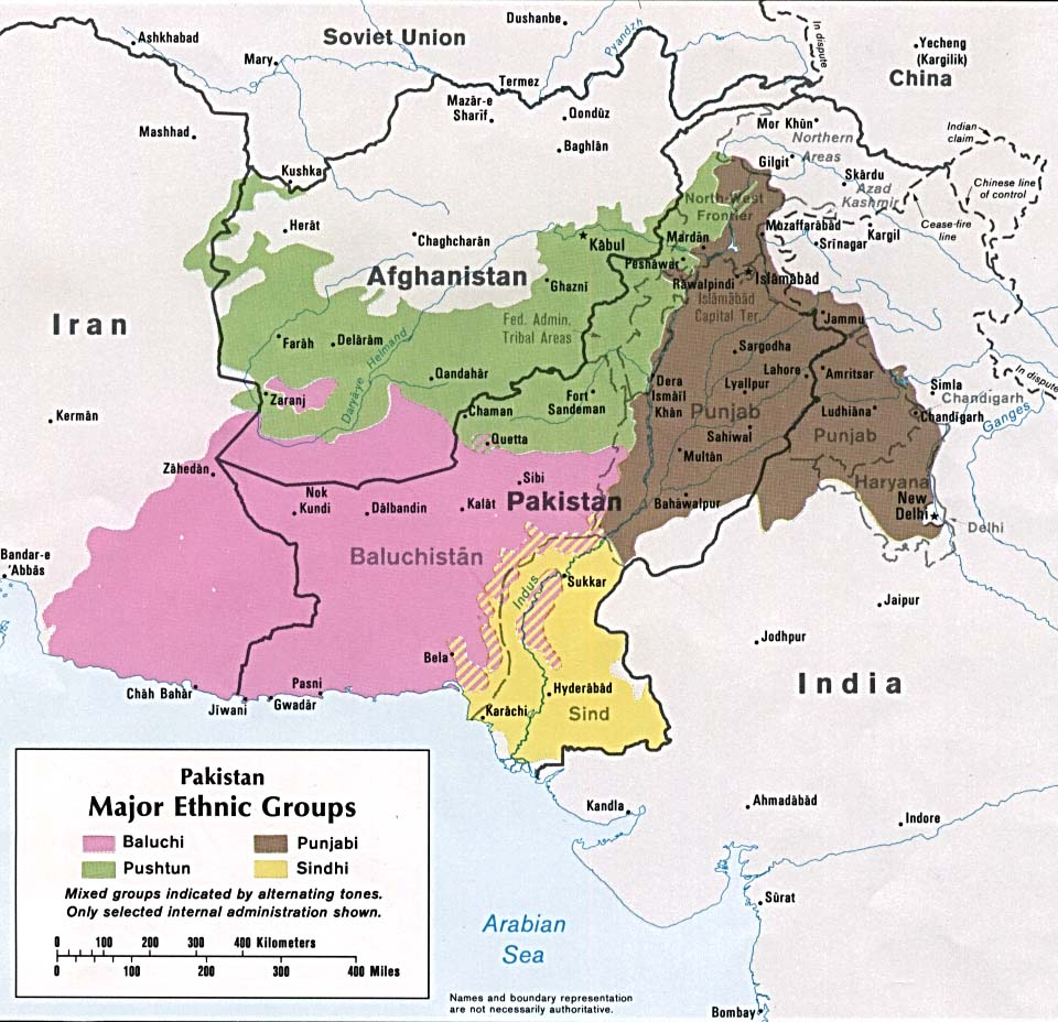 Pakistan-gruppi-etnici-etnie-mapa-CPEC-OBOR-Cina-Karakoram-Gwadar