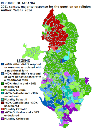 Albania_majority_religion_2011_census