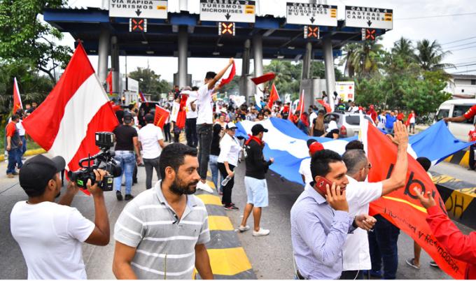Proteste honduras