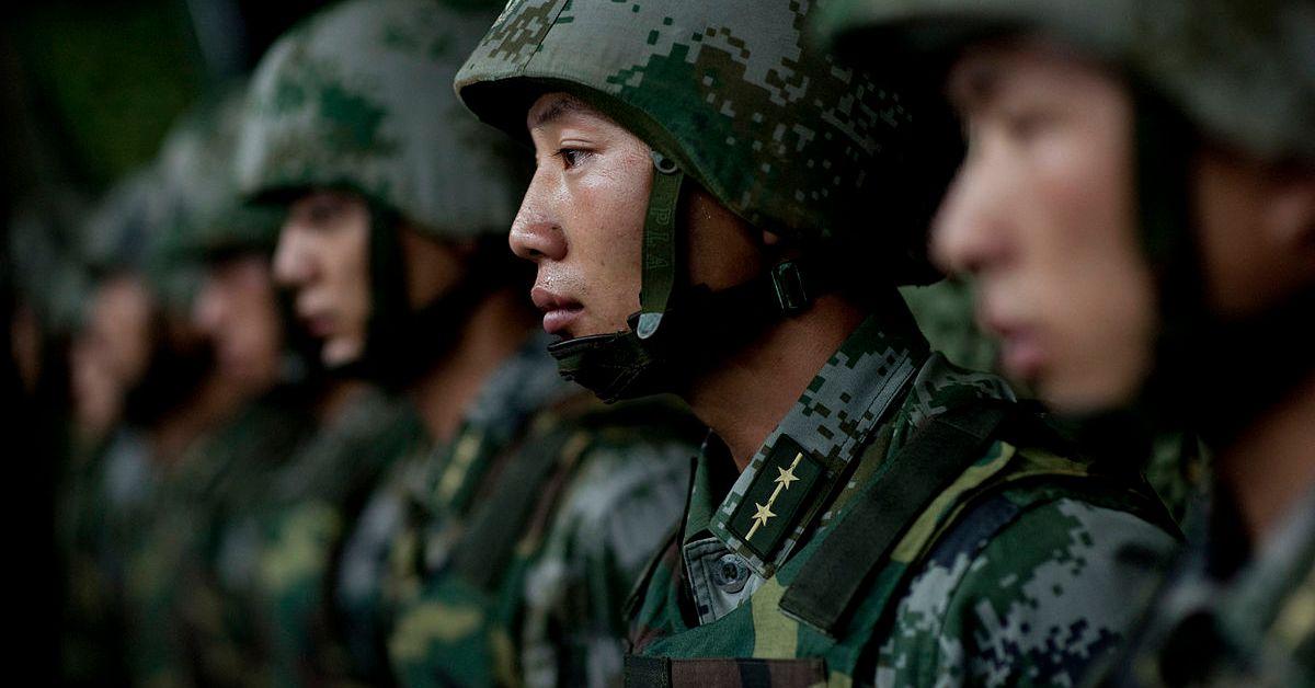 PLA army