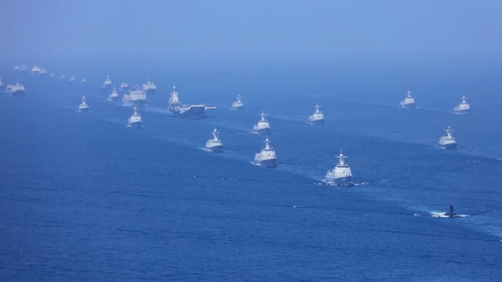 Esercitazioni Navali Cina