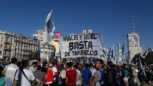Gli scioperi in Argentina contro il gioco del default