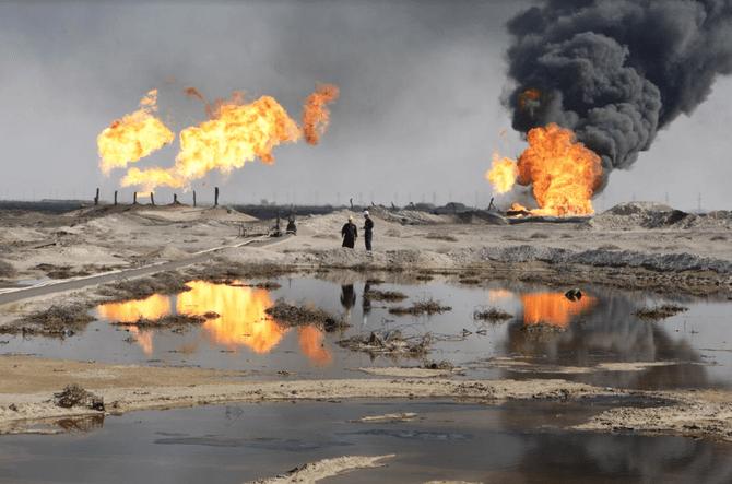 Oil field in Basra