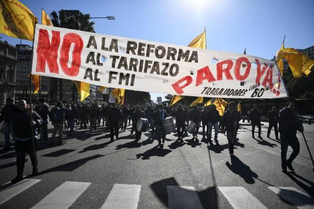 sciopero FMI argentina sindacati