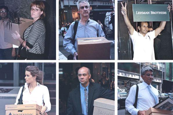 traders di lehman brothers
