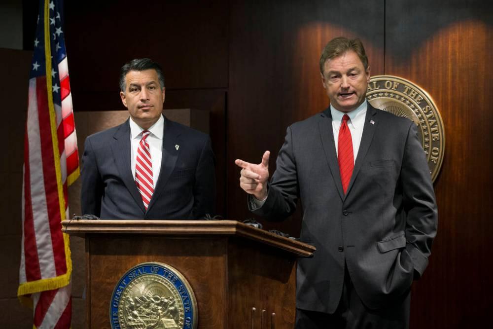 Brian Sandoval e Dean Heller