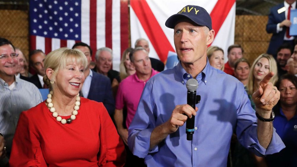 Trump-Florida-Midterms-Nelson-DeSantis-Repubblicani
