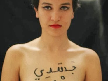 Amina Sboui (Fonte: Globalist)