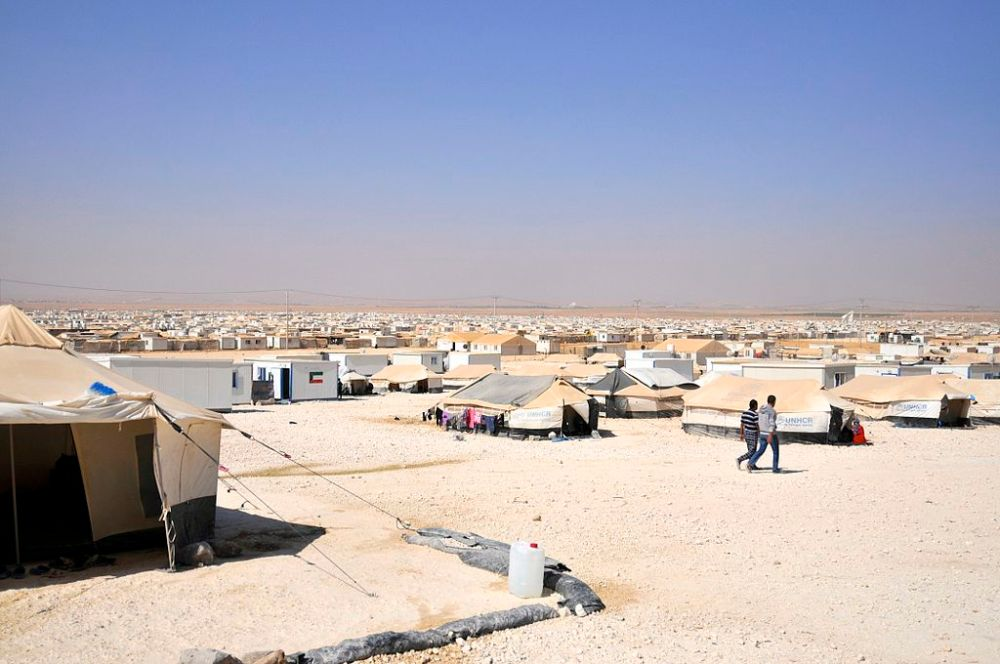 Zaatari_refugee_camp,_Jordan_(9664136230)