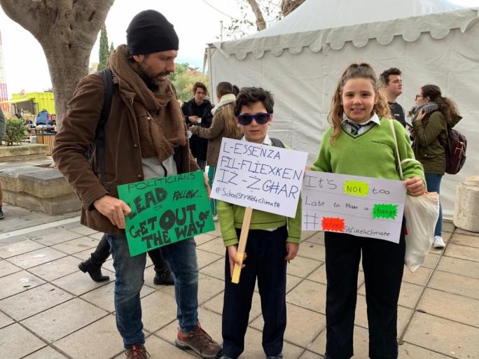 climate-strike-malta