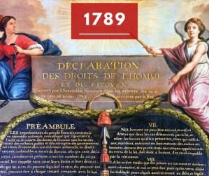 Ricorda 1789: la Dichiarazione dei diritti dell'uomo e del cittadino