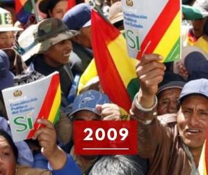 Ricorda 2009: la nuova Costituzione indigenista della Bolivia