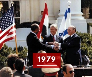 Ricorda 1979: il trattato di pace tra Egitto e Israele