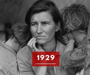 Ricorda 1929: la grande crisi