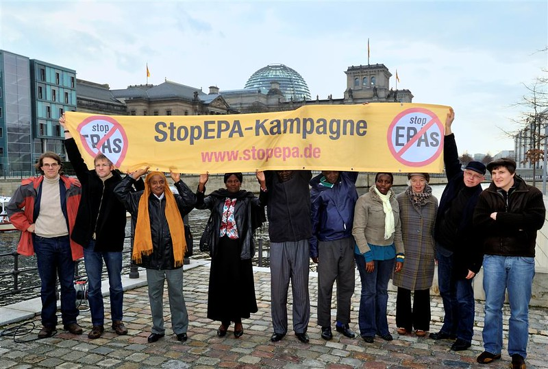 Manifestazione Stop EPA