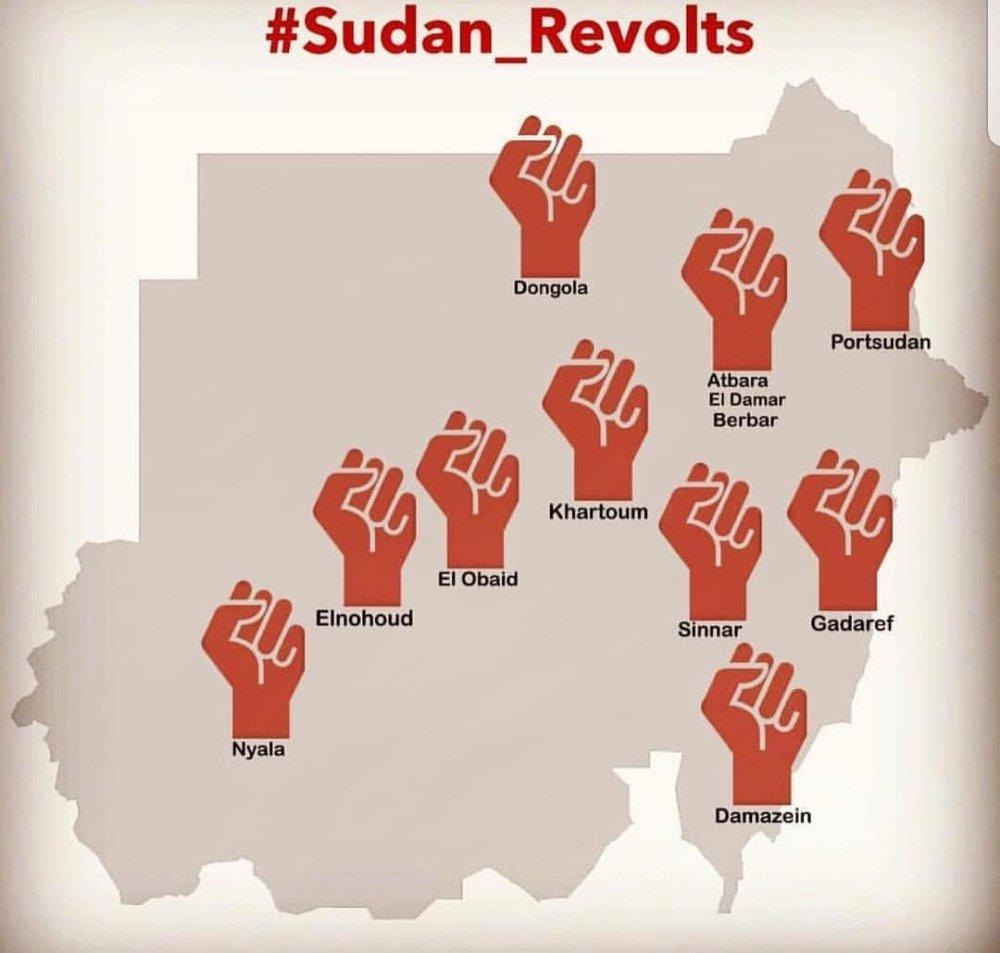 Rivolte in Sudan