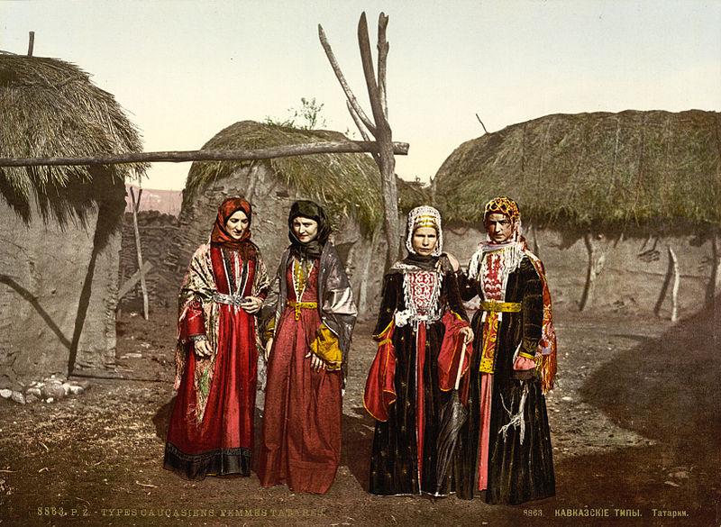 Tatar_women_of_the_Caucasus,_Russian_Empire,_ca._1895
