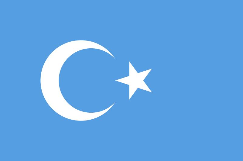 xinjiang flag