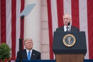 Trump e Cane Pazzo Mattis: la difesa di ferro