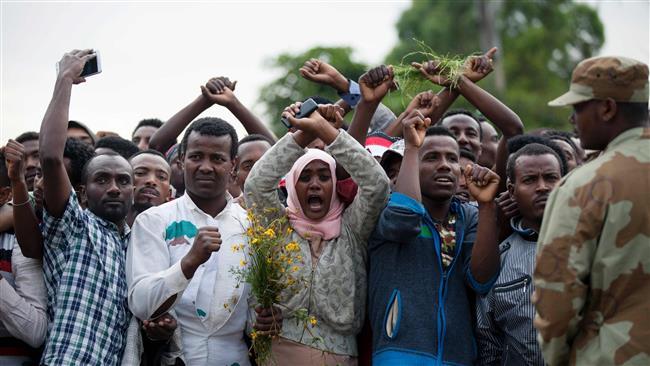 rivolte in Etiopia