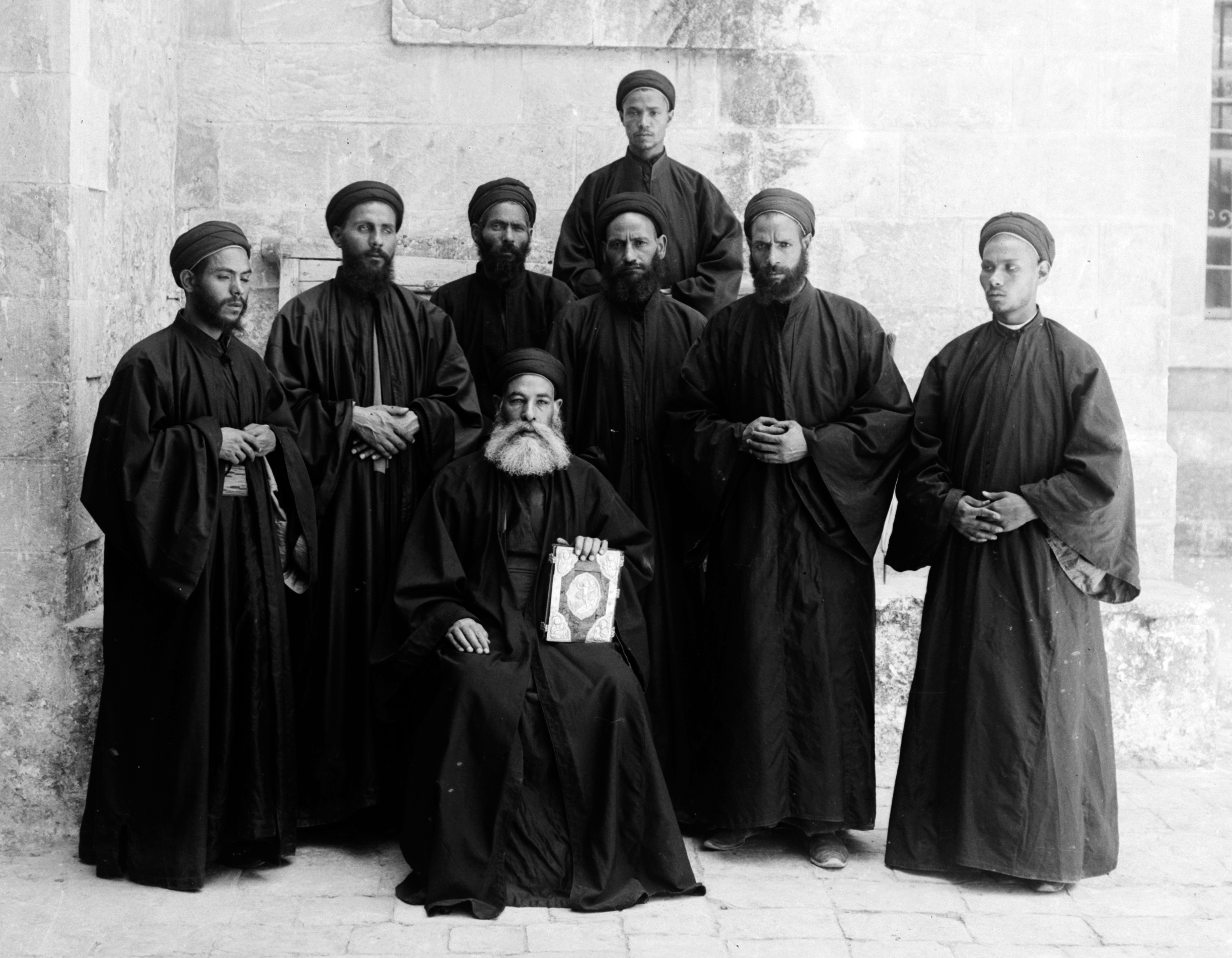 Coptic_monks