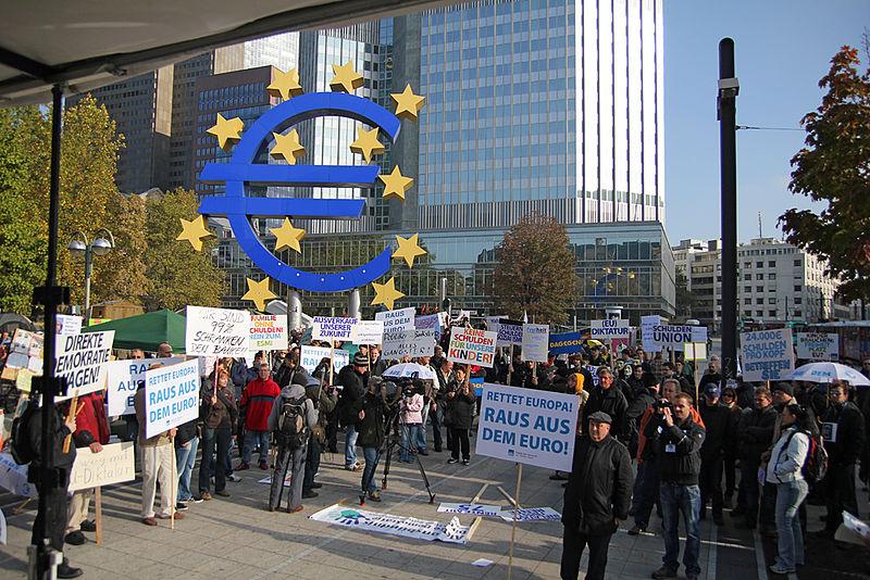 Protesta contro l'austerity