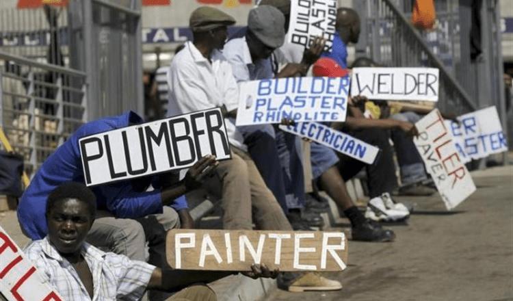 Disoccupazione in Sudafrica e lavoro informale