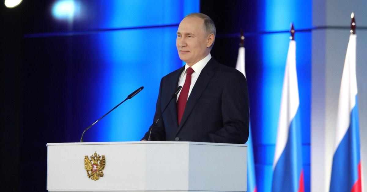 Il Presidente della Federazione Russa, Vladimir Putin - Fonte: Kremlin.ru - Creative commons