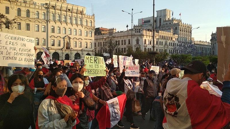 Manifestazioni Perù