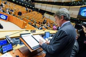 European Parliament President David Sassoli_LoSpiegone