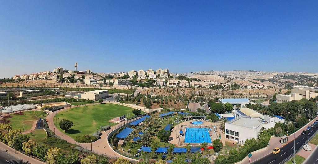 Una veduta dell'insediamento israeliano di Ma'ale, a est di Gerusalemme, in Cisgiordania