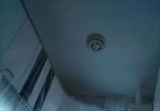 repasos de gotelé en techo de cocina