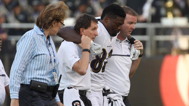 RAVENS INJURY LESIÓN NFL BALTIMORE