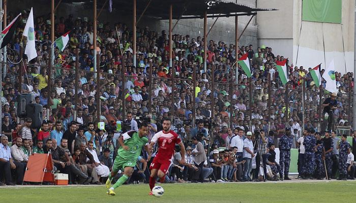 futbol Israel Palestina