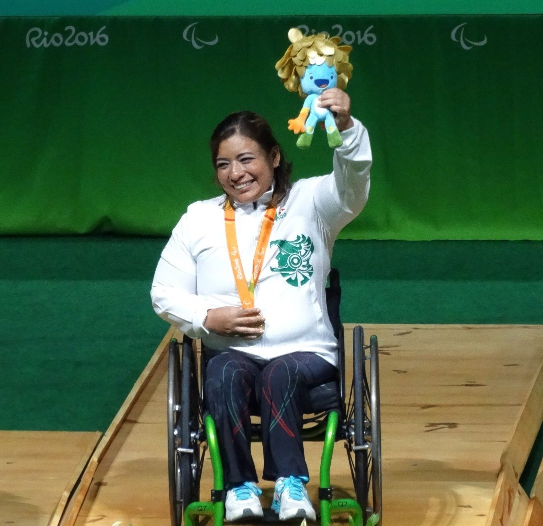 Amalia Pérez medalla de oro