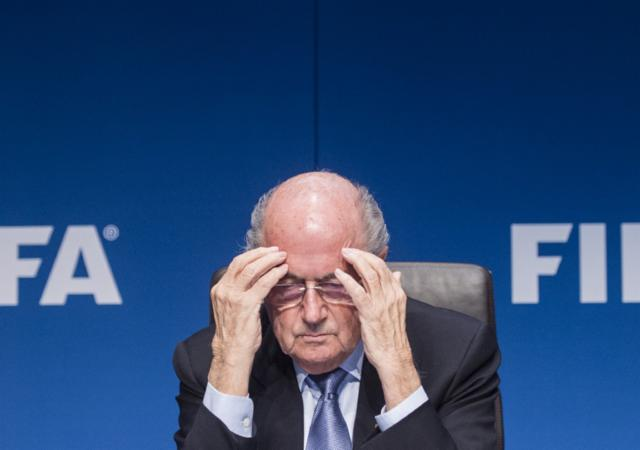 Blatter FIFA soborno