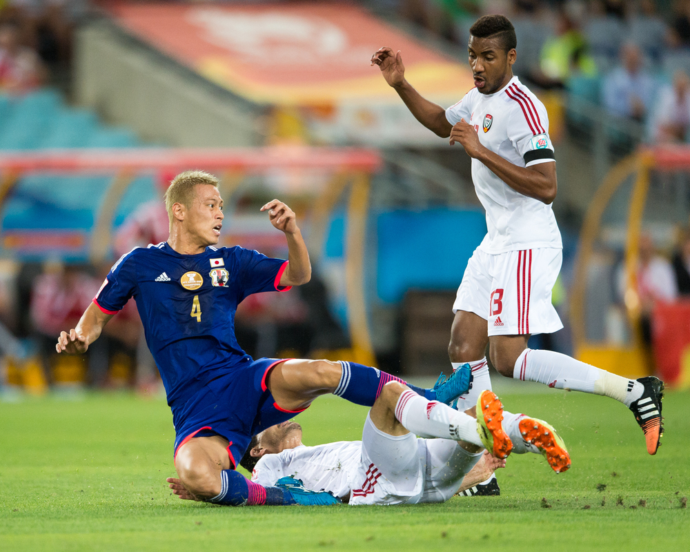 Japan-takes-on-United-Arab-Emirates-in-Fifa-WC-Qualification-Match-Third-Round-on-1st-september