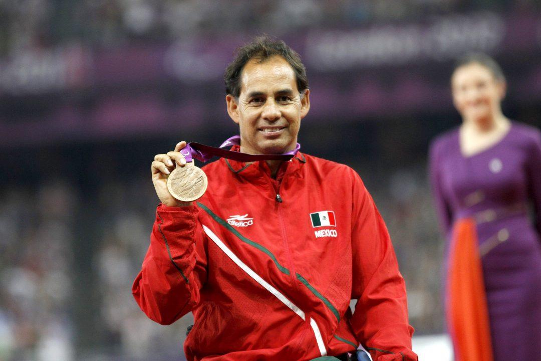 Salvador Hernández medalla de bronce