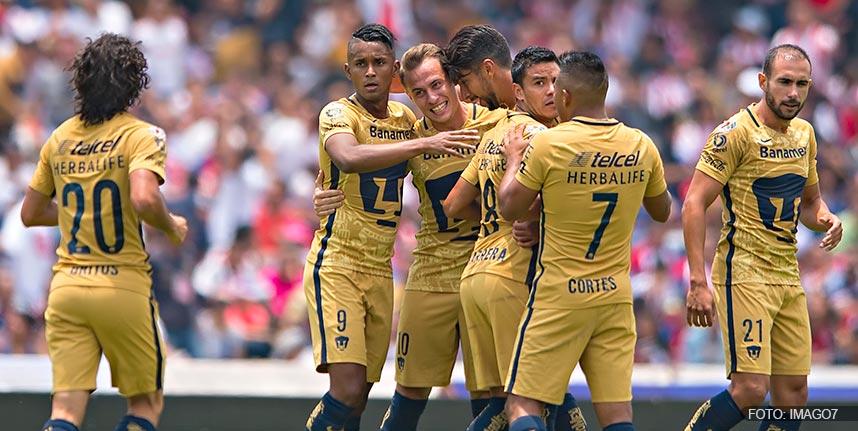 9ba9253ce La directiva de los Pumas de la Universidad Nacional Autónoma de México,  anunciaron los costos de los boletos para el partido de ida de los cuartos  de final ...