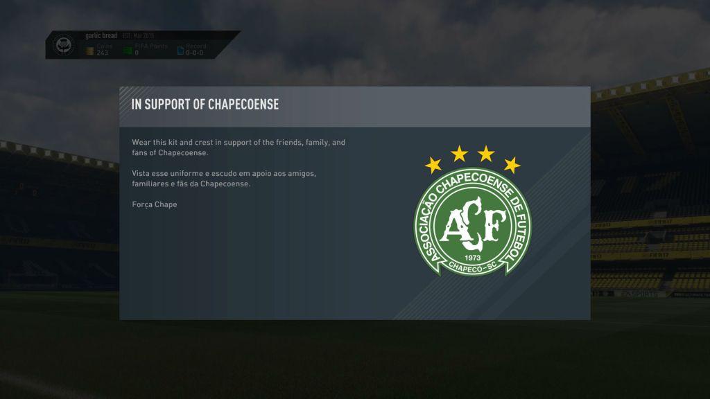 Mensaje FIFA 17