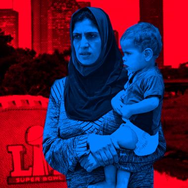 """Houston es una """"zona de guerra"""" de americano y refugiados"""