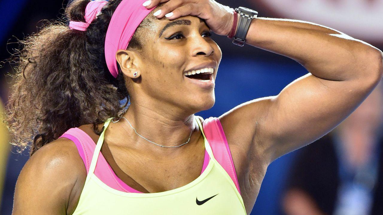 Serena Williams sorpresa tenistas amateurs