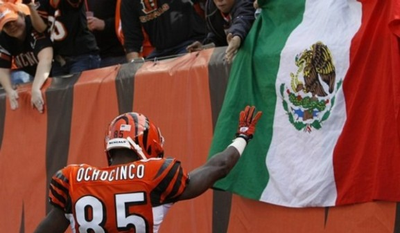 Chad Ochocinco LFA México