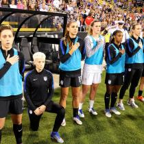 US Soccer himno respeto Megan Rapinoe